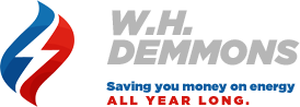 W.H. Demmons SAving You Money on Energy All Year Long