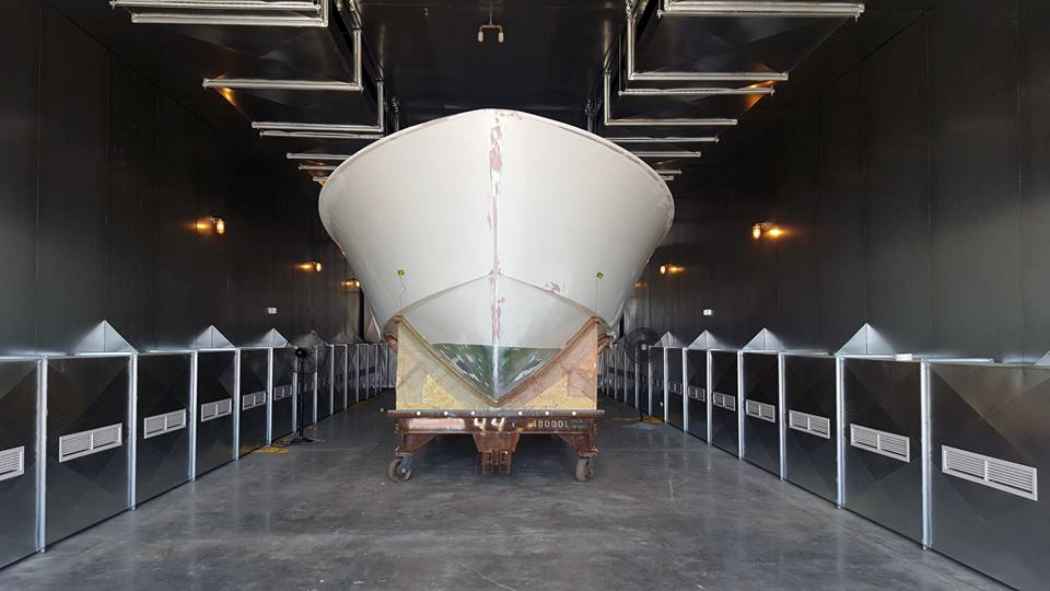 Hinckley Yachts New Curing Oven W H Demmons